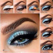 i like the elsa inspired makeup with the blue eyeshadow on the upper lid and on the waterline also if you look closely i like the dark brown eyeshadow
