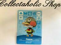 Animal Crossing Happy Home Amiibo Card DEENA #54   eBay