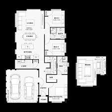 8 Metre Wide House Designs Narrow Lot Homes Perth