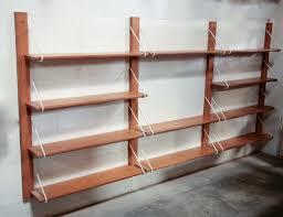 dutch birch wall mount shelving unit wall mounted shelving units h33