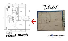 i will draw floor plan in autocad