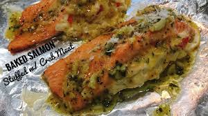 I was mildly (ok, very) skeptical, but i told him if he prepared it, i would eat it. Often Asked How Long To Cook Stuffed Salmon In The Oven Kitchen