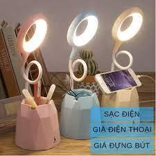 Đèn bàn học sạc tích điện Bảo hành 3 thángGiá để điện thoạiM36011 đèn led  đọc sách chống cận cho trẻ học sinh tại Hưng Yên