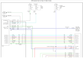 1996 lincoln town car wiring diagram 1997 lincoln town car radio wiring diagram at 1997 Lincoln Town Car Wiring Diagram