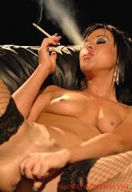 Super sexy young pornstar Lolly Badcock smokes VS all white 120 s.