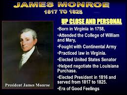 fr essay for tuesday choose the monroe doctrine has been called   era of good feelings 3 up