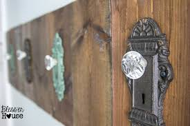 antique looking door knobs. Modren Door DIY Antique Door Knob Towel Rack  Blessu0027er House Throughout Looking Knobs