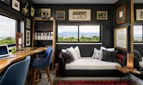 black home office ideas you will love