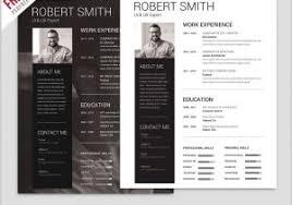 Free Modern Resume Template Downloads Download Free Resume Template 68332 Beautiful Resume Template
