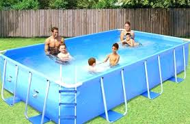 rectangle above ground pool sizes. Above Ground Pool Rectangle Swimming Sizes S