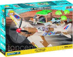 <b>Конструктор Cobi</b> Supermarine Spitfire Mk.IX <b>Desert</b> Airstrip 5545 ...