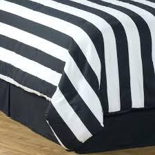 black and white striped duvet cover city stripe twin duvet cover set bonus insert photo 4