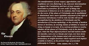John Adams Christian Quotes Best Of Quotes Foundation Truths