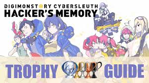 Digimon Cyber Sleuth Digivolution Chart Digimon Story Cyber Sleuth Hackers Memory Trophy Guide