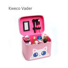 korean makeup brands large capacity cosmetic bag brand design korean portable trumpet storage box