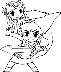 Majoras Mask Coloring Pages Sketch Coloring Page