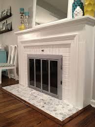 contemporary ideas fireplace floor tiles hearth tile home inspiration