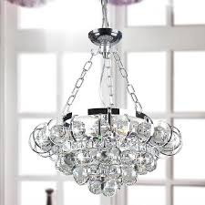 four light chrome and crystal chandelier for modern property chrome crystal chandelier plan