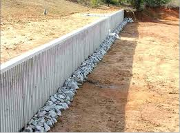 how to build a concrete retaining wall stamped concrete retaining wall concrete retaining wall google search