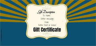 Guitar Lesson Gift Certificate Template Free Gift Certificate Template 50 Designs Customize Online And