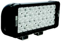 visionx whole led lighting 11 xmitter prime xtreme double stack led bar black thirty six 5 watt led s
