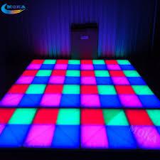 Us 4100 0 20 Square Meter Led Dance Floor Led Light Floor Dmx Control Stage Light Ktv Bar Party Disco Dj Club Led Effect In Stage Lighting Effect