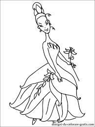 Disegni Della Principessa Tiana Da Colorare Disegni Da Colorare Gratis
