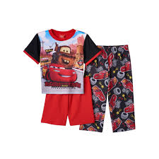 Lighting Mcqueen Pajamas Disneys Cars Lightning Mcqueen Mader 3 Pc Pajama Set