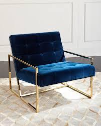 awesome design blue velvet accent chair modern decoration chairs you ll love wayfair dark navy light