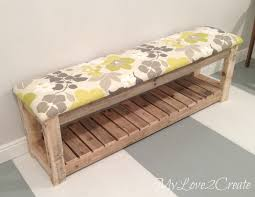 Diy Bench Diy Upholstered Bench My Love 2 Create