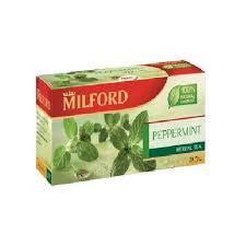 <b>Чай зеленый</b> с мятой в пакетиках <b>Milford</b>, 20 шт. купить в ...