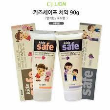 World Go Korean <b>Cj Lion Kids</b> Toothpaste 90 G Grape/strawberry ...