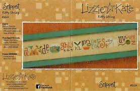Details About Lizzie Kate Kitty Cat String Cross Stitch Chart