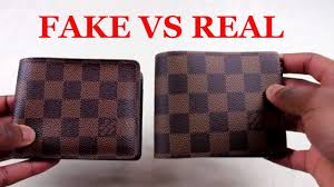 how to spot a replica louis vuitton wallet real vs fake louis vuitton multiple wallet