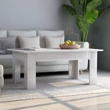 best white gloss coffee table