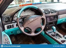 Ford Interior Design Interior Design Of Ford Thunderbird Classic Car Editorial