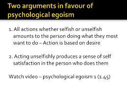egoism essay psychological egoism essay