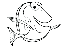 Dory Coloring Finding Nemo Coloring Pages Fresh Finding Dory