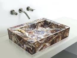 petrified wood sink.  Petrified Petrified Wood Sinks Rectangular Sink  Lowes Throughout Petrified Wood Sink I