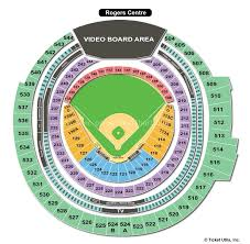 Rogers Centre Detailed Seating Chart Rogers Centre Toronto On Seating Chart View
