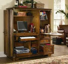 Hidden Printer Cabinet Vibrant Inspiration Armoire Desks Home Office Simple Ideas 17 Best