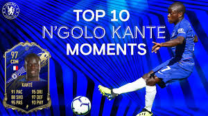 N'golo kanté scouting report table. N Golo Kante S Top 10 Chelsea Moments Fifa 20 Toty Midfielder Youtube