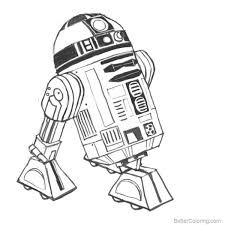 R2 D2 Star Wars Lego Coloring Pages Free Coloring Pages Of R2d2