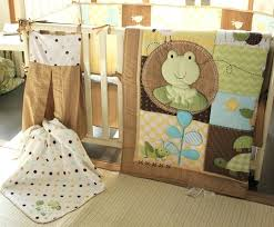 crib bedding set turtle