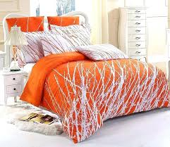 blue and orange duvet cover blue orange duvet cover