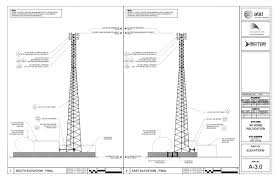 at t plans ft g cell tower gci prepares g for nome a schematic of the proposed tower image at t
