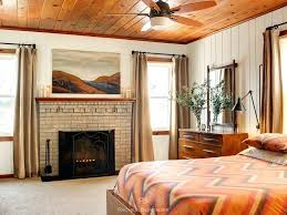 Ceiling Finishes Materials Creative Modern Ideas Knotty Pine Bedroom  Contemporary With Adjustable Wall Light Bachelor