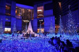 Shiodome Christmas Lights Caretta Shiodome Christmas Lights 2018 2019 A Glowing