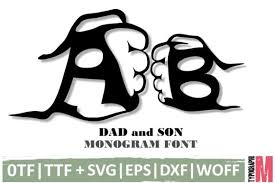 Fontspring has tons of free fonts for designers on a budget. 1 Dad Letters Svg Designs Graphics