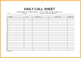 Sales Calls Tracking Template Recreation Sales Activity Tracker Daily Planner Cold Call